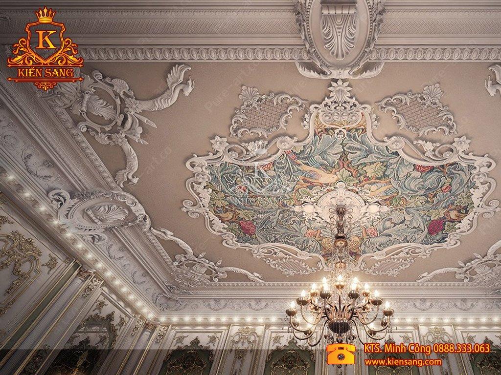 Biệt thự 2 tầng tân cổ điển tại Hoàng Mai