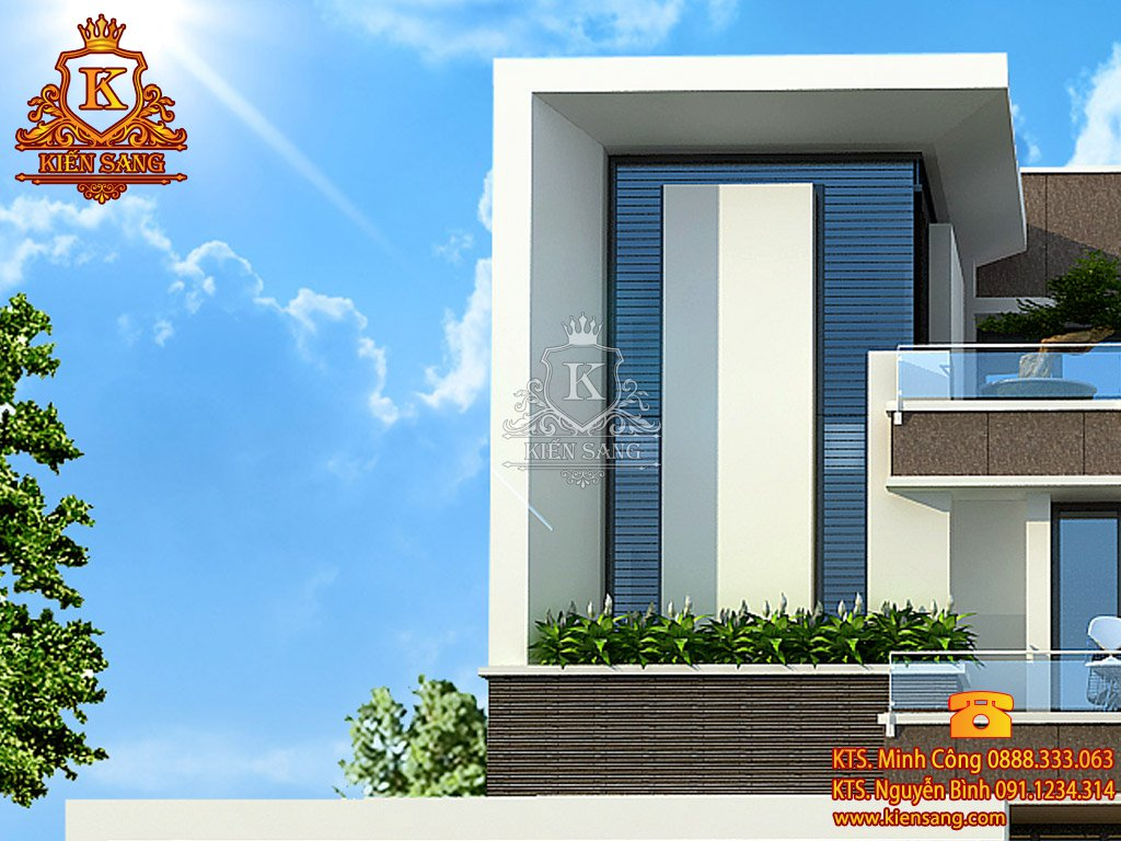Biệt thự 3 tầng hiện đại tại Đà Nẵng