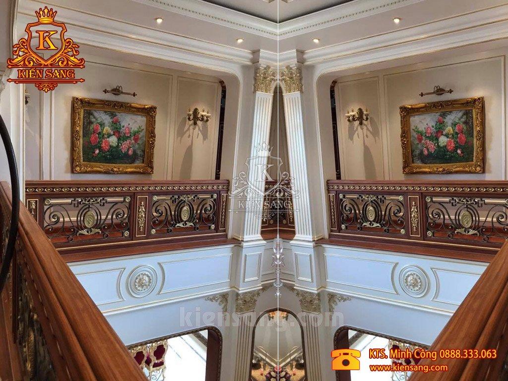 Choáng ngợp công trình nội thất tân cổ điển giá trị triệu đô