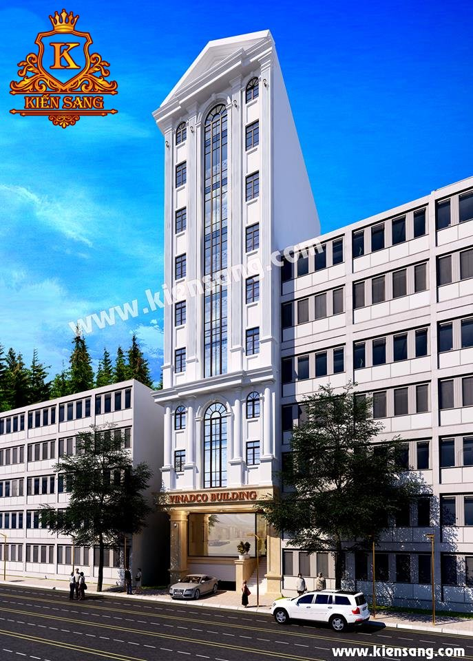 Kiến Sang nhận thầu thiết kế tòa 10 tầng VINADCO Đà Nẵng