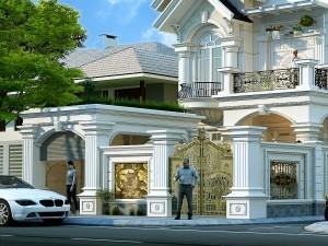 Biệt thự 2 tầng tân cổ điển tại Đồ Sơn