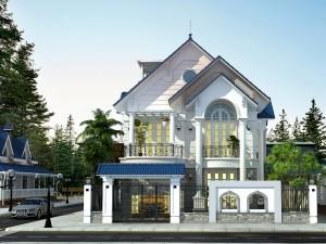 Biệt thự 2 tầng tân cổ điển ở thị xã Từ Sơn