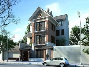 Biệt thự 3 tầng tân cổ điển tại Bắc Ninh