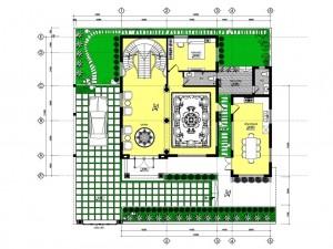 Biệt thự 3 tầng tân cổ điển tại Hạ Long