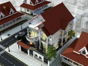 Biệt thự 2 tầng tân cổ điển tại Ninh Hiệp