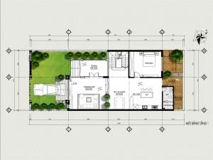 Biệt thự 2 tầng hiện đại tại Nam Từ Liêm