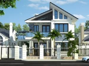 Biệt thự 2 tầng hiện đại tại Long Biên