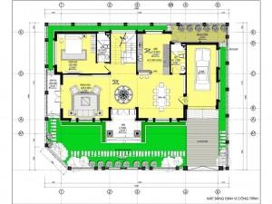 Biệt thự 2 tầng hiện đại 2 mặt tiền