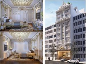 Khách sạn 5 tầng cổ điển tại HCM