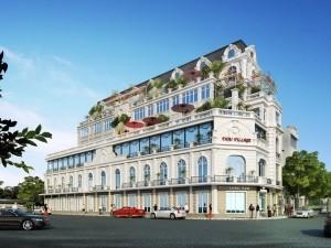 Biệt thự 5 tầng cổ điển tại Đà Nẵng