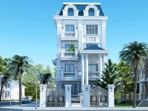Biệt thự 4 tầng cổ điển tại Đồ Sơn