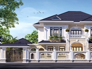 Nhà phố 2 tầng cổ điển tại Bắc Ninh