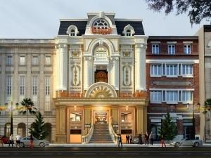 Nhà phố 5 tầng cổ điển tại Thái Nguyên