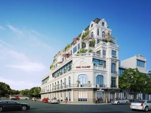 Nhà phố 5 tầng cổ điển tại Đà Nẵng
