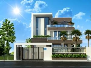 Biệt thự 3 tầng hiện đại tại Hà Nội