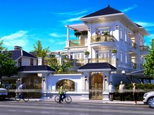 Biệt thự 3 tầng tân cổ điển tại Đà Nẵng