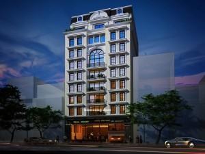 Khách sạn 5 tầng cổ điển tại Hai Bà Trưng