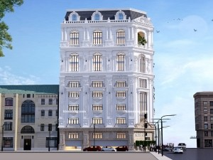 Khách sạn 5 tầng cổ điển tại Long Biên