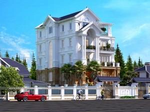 Biệt thự 5 tầng tân cổ điển 150m2
