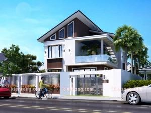 Biệt thự 2 tầng kiểu Thái tại Vĩnh Phúc