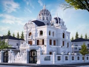 Biệt thự 5 tầng cổ điển tại Sơn Tây