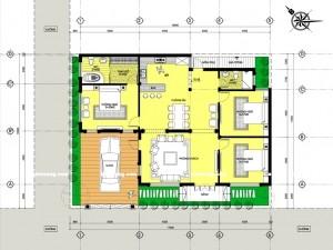 Biệt thự 2 tầng tân cổ điển tại Móng Cái