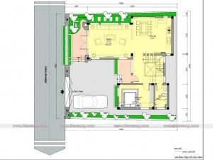 Biệt thự 3 tầng hiện đại 110m2