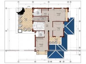 Biệt thự 2 tầng tân cổ điển 135m2