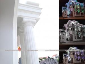 Mẫu biệt thự 3 tầng tân cổ điển tại Vĩnh Phúc