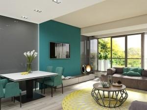 Nội thất chung cư hiện đại tại Đống Đa