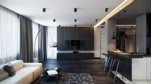 Nội thất chung cư hiện đại tại Tây Hồ