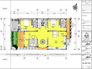 Biệt thự 3 tầng hiện đại 150m2 tại An Giang