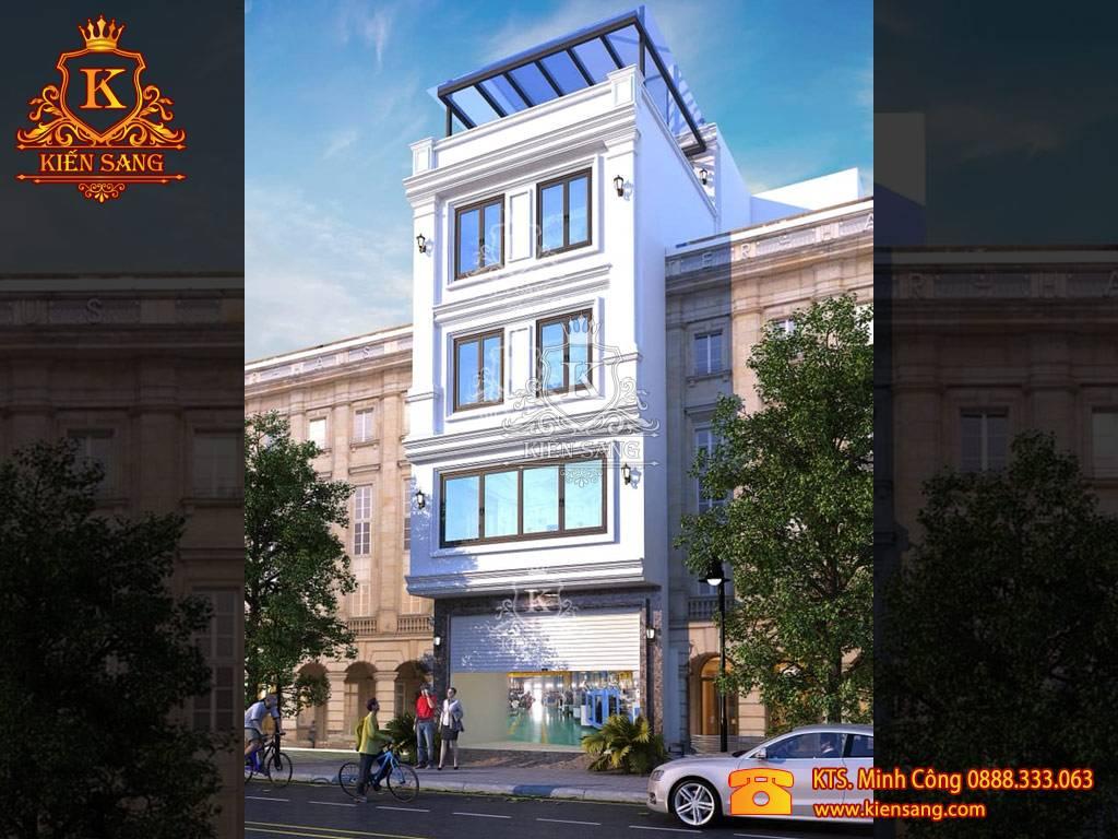 Dự án xây dựng biệt thự phố tại phường Minh Khai, Hà Nội