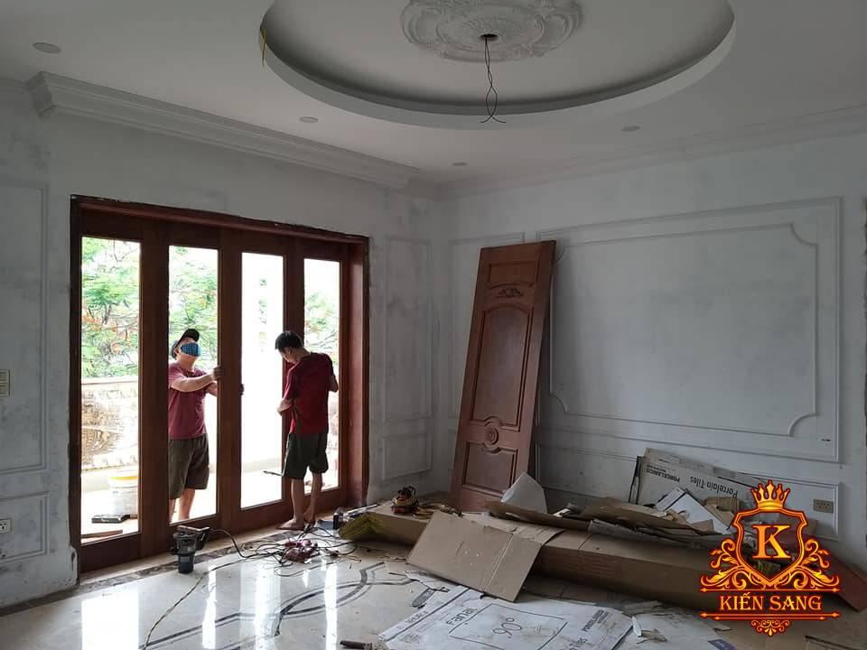 Cập nhật tiến độ xây biệt thự 3 tầng tại Từ Sơn