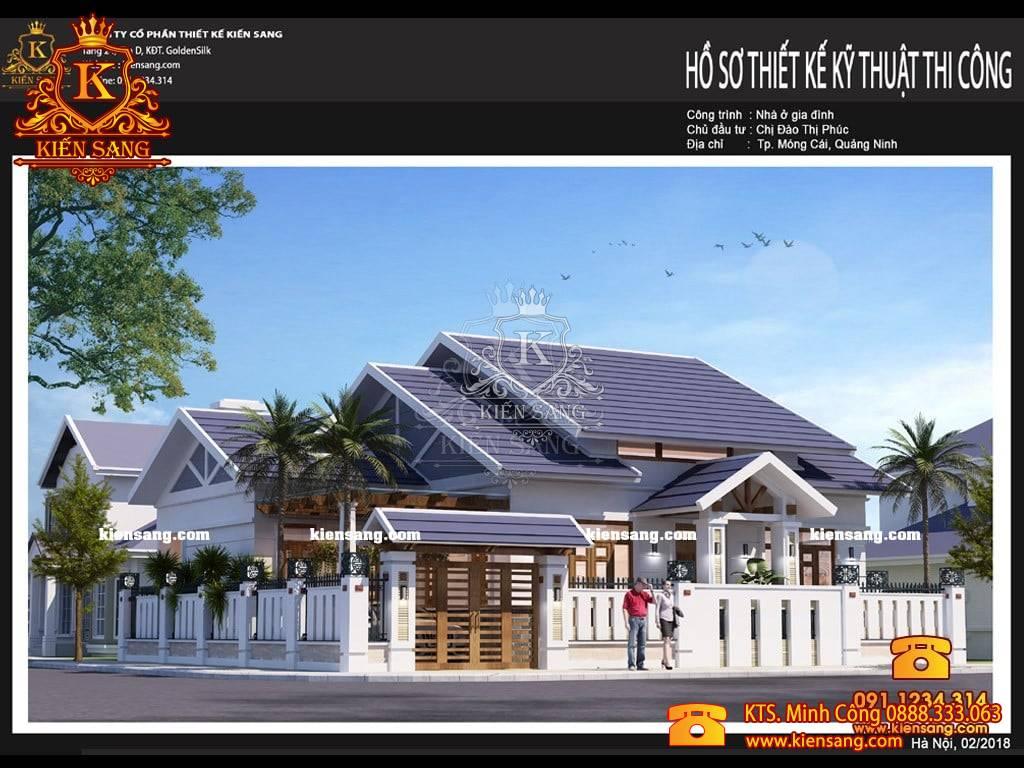 Giới thiệu mẫu nhà phố 1 tầng tại Quảng Ninh
