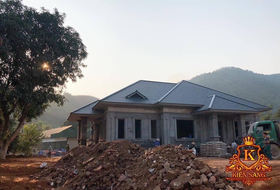 Giám sát thi công biệt thự khủng 300m2 tại Lào Cai