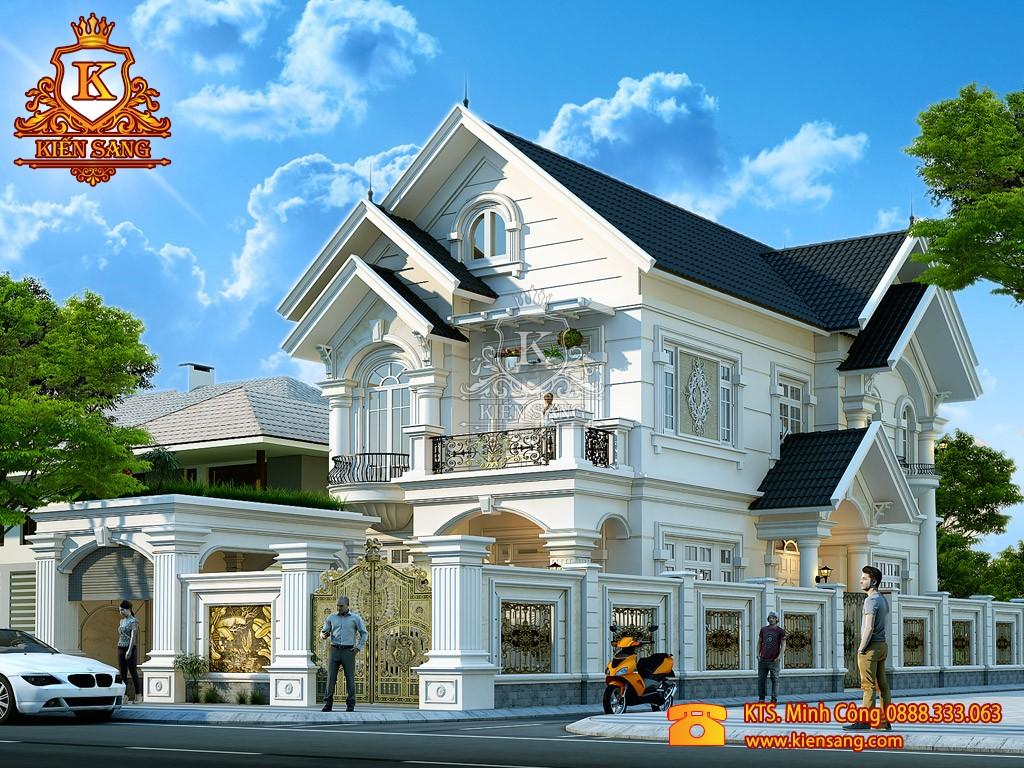 Thiết kế biệt thự tân cổ điển tại Nam Định