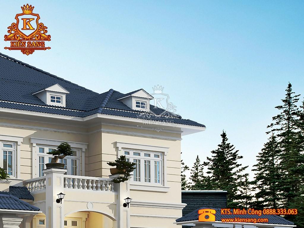 Biệt thự 2 tầng tân cổ điển tại Hạ Long