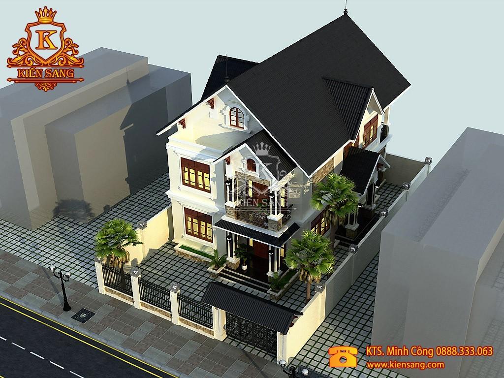 Thiết kế biệt thự tân cổ điển tại Phú Thọ