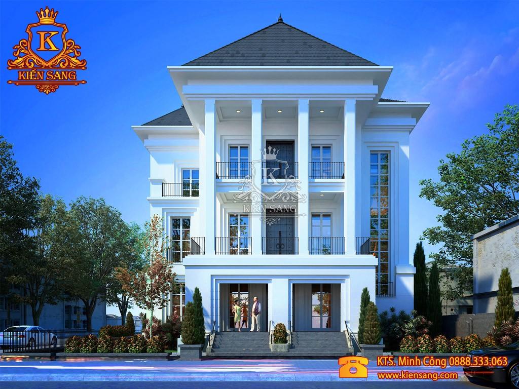 Thiết kế biệt thự tân cổ điển tại Lào Cai