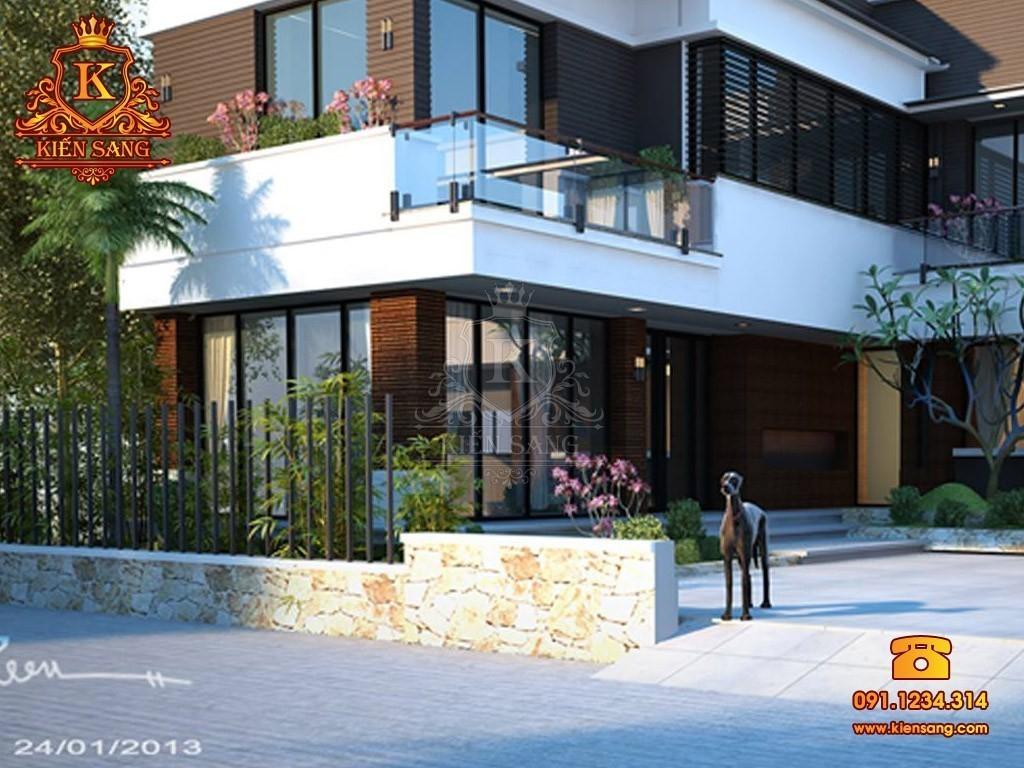Biệt thự 2 tầng hiện đại tại Ninh Hiệp