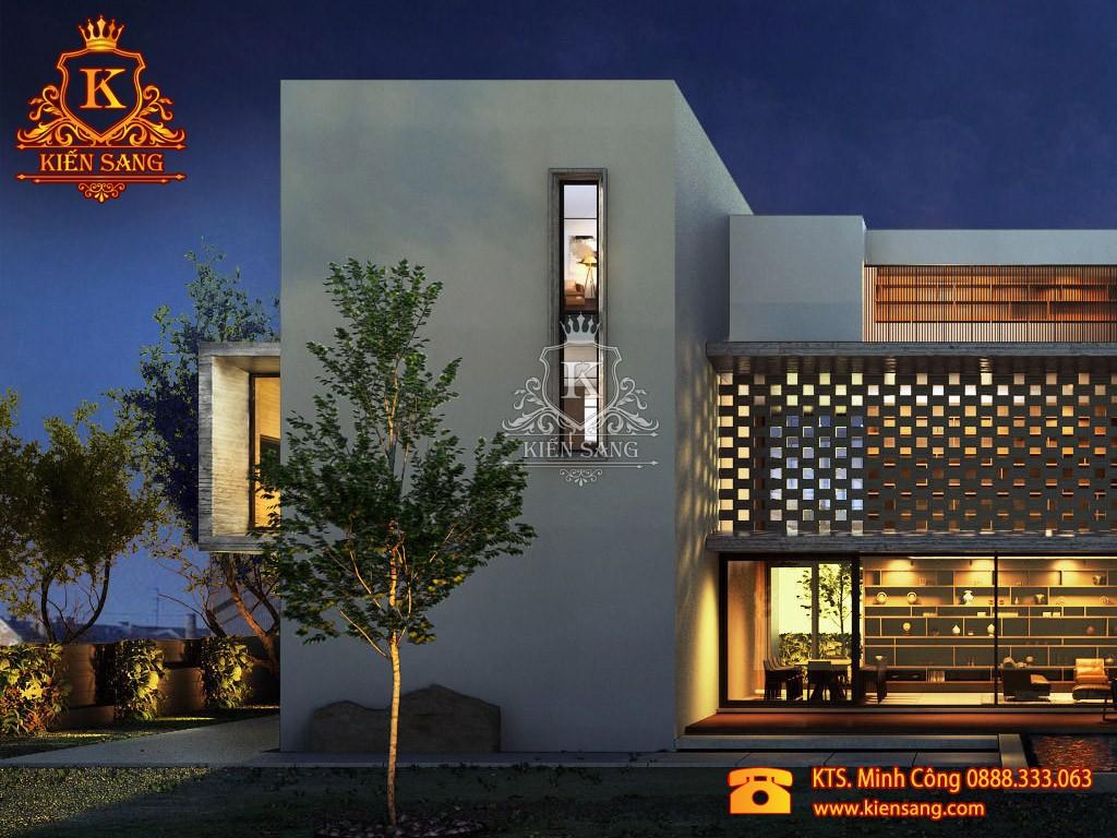 Biệt thự 2 tầng hiện đại tại Vĩnh Phúc