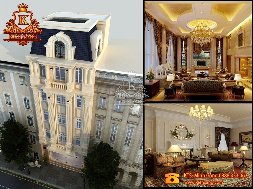 Khách sạn 4 tầng tân cổ điển tại Hạ Long