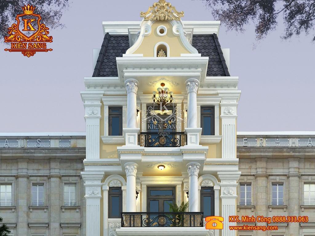 Biệt thự 5 tầng tân cổ điển tại Hạ Long