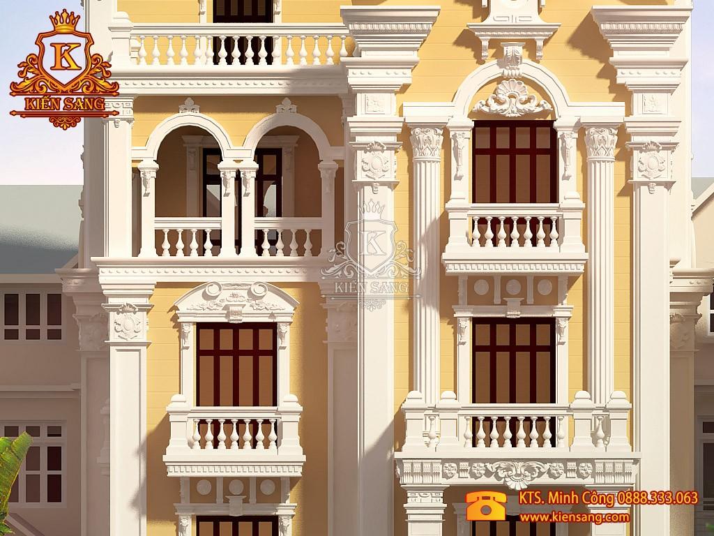 Biệt thự 5 tầng tân cổ điển tại Cầu Giấy