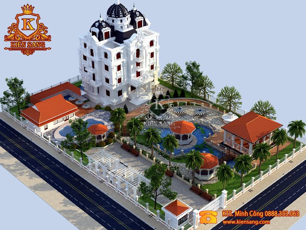 Top 10 biệt thự đẹp nhất phường Thanh Xuân Nam