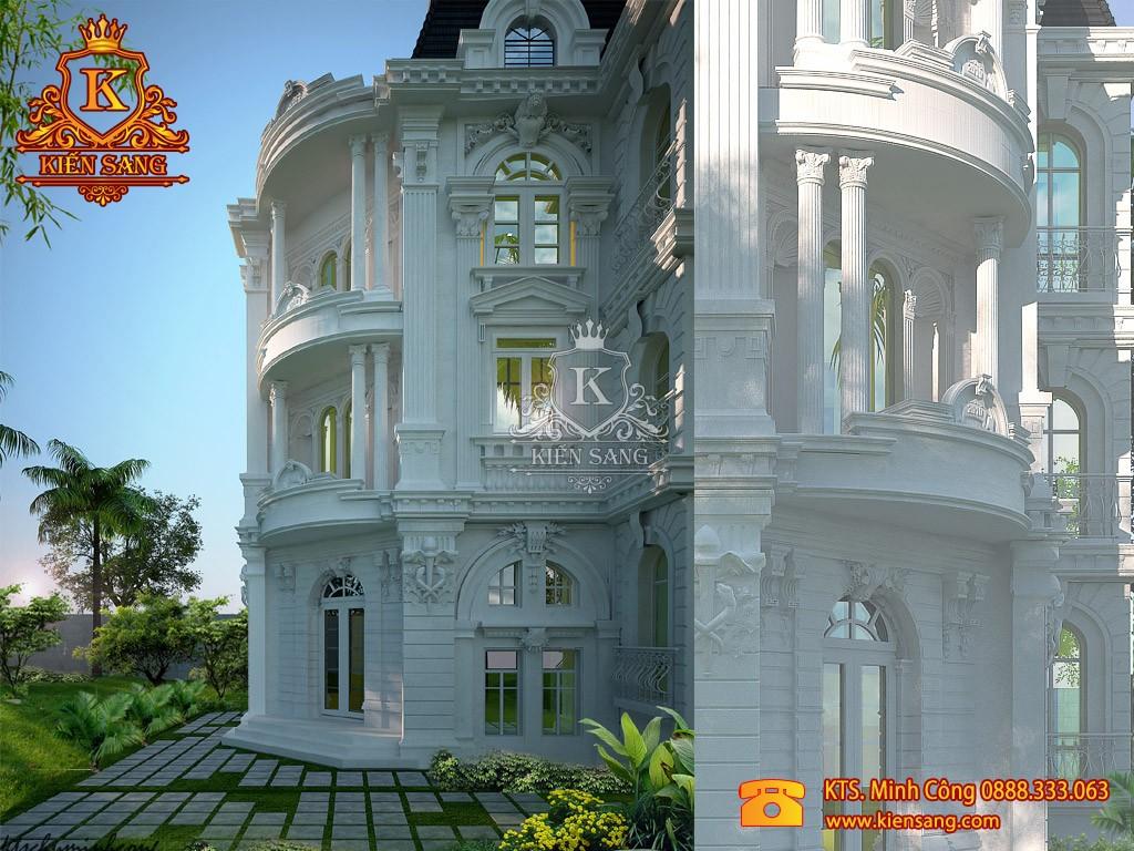 Biệt thự 5 tầng cổ điển tại Lào Cai