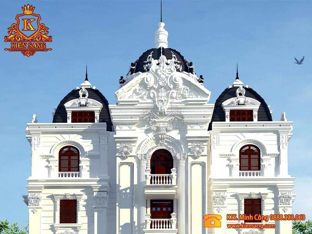 Biệt thự 5 tầng cổ điển tại Gia Lâm