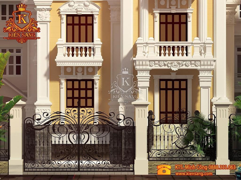 Biệt thự 4 tầng cổ điển tại Từ Sơn