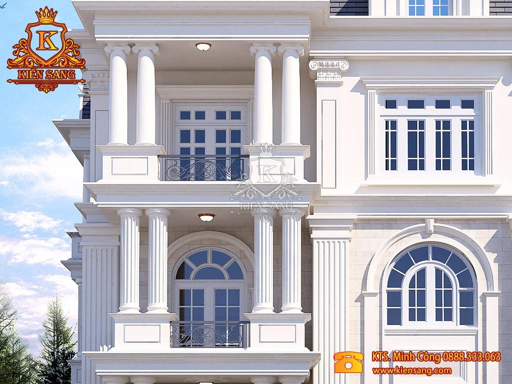 Biệt thự 5 tầng cổ điển tại Hải Dương